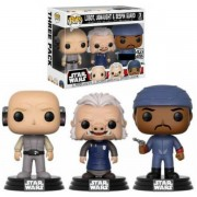 Pop! Vinyl Pack 3 Figuras Pop! Vinyl Exclusivas Lobot, Ugnaught & Guardia de Bespin - Star Wars