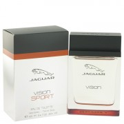 Jaguar Vision Sport Eau De Toilette Spray 3.4 oz / 100.55 mL Men's Fragrance 516851