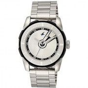 Fastrack Quartz Silver Dial Mens Watch-3099SM01