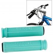 Un Par Ag110 Road Bike Mountain Bike Manillar De Agarre De Silicona Protector Fundas (verde Menta)