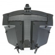 Meco Tactical Airsoft Helmet Cover SPT Steel Mesh Full Face Mask