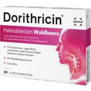 MEDICE Arzneimittel Pütter GmbH&Co.KG DORITHRICIN Halstabletten Waldbeere 20 St