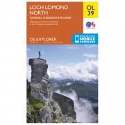 Ordnance Survey Loch Lomond North / Tyndrum Outdoor Carta escursionistica