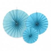 Körlegyező papír 23,32,40cm kék II (3 db/szett)