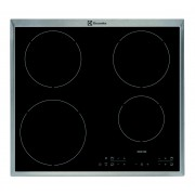Electrolux EHH6340XOK Built-in Zone induction hob Black