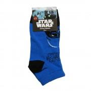Star Wars kék feketével gyerek zokni