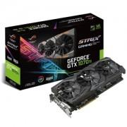 Placa video ASUS ROG Strix GeForce GTX 1070 Ti Advanced Gaming 8GB GDDR5, 256-bit, 1683 (1759) MHz, DVI-D, 2x HDMI, 2x DP