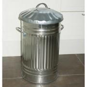 Keukenafvalvuilnisemmer gegalvaniseerd60 L