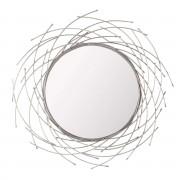 Dekoria Lustro Rays silver 103cm, 103×103×4,5cm