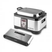KLARSTEIN Tastemaker + FOODLOCKER PRO, set pentru fierbere vacuum (SOUS VIDE), vas electric, 550 W / 6 L, 0,8 bar