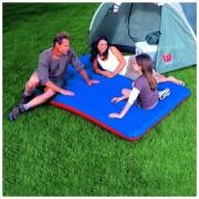 Saltea gonflabila Camping Bestway, Albastru/Rosu