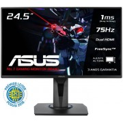 Asus Monitor ASUS 24,5 Wide FHD 1920x1080, Gaming, 1ms, 1D-Sub/2xHDMI -VG255H
