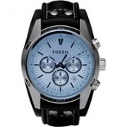 Fossil Horloge Gents Coachman Blue CH2564