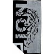 Telo mare spugna jacquard LION 90x170 cm.