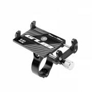 Suport de telefon pentru trotineta electrica scuter Xiami Mijia M365, Ninebot etc din aluminiu cu fixare pe bara