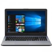 Лаптоп ASUS X542UQ-DM117, Intel Core i3-7100U (2.4GHz, 2 cores, 3M Cache), 15.6 инча, FHD LED, 1TB HDD, 8 GB, Тъмно сив