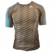 Adidas Ultimate Athlete Rashguard Korte Mouw - S