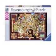 Пъзел Ravensburger 1000 части - Игри, 7019406