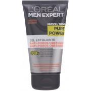 MEN EXPERT pure power curatare scrub gel 150 ml