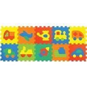 Habszivacs puzzle Játszószőnyeg - Járművek