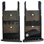 New Sim Tray Holder For Motorola Moto G5 Plus - Black Colour