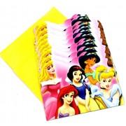 Evisha BARBIE Birthday Invitation Cards with Envelops,set of 20 Cards/Birthday PRINCESS Theme Party Supplies