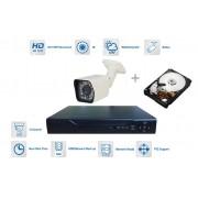 Kamerový set 1x bullet kamera 720P s 20m IR a DVR + 1TB HDD