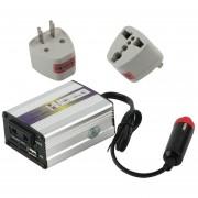 EH 200W USB 24V DC A AC 220V Coche Automático Vehículo Inversor Adaptador Convertidor
