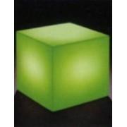 Verlicht object kubus 40 cm met RGB
