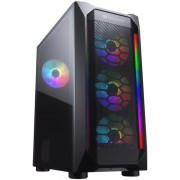CASE, COUGAR MX410 Mesh-G RGB, Black /No PSU/ (CG385VM700004)