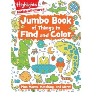 Jumbo Book of Things to Find and Color, Paperback