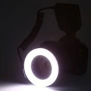Macro LED Ring Flash Para Cámaras Canon Nikon DSLR