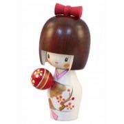 Japonská panenka Kokeshi Temari 14 cm