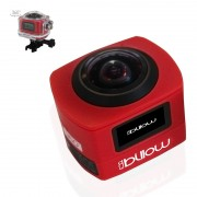 Action Cam 360 BILLOW, WIFI, c/ acessórios, Red - XS360PROR