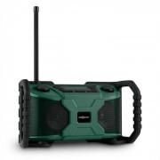 Worksite Altifalante Externo DAB+ FM Bluetooth USB Pilhas Verde
