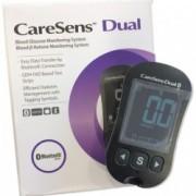 Glucometru CareSens Dual - glucoza si β-cetone + plasturi CADOU