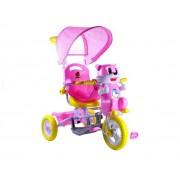 Dječji tricikl Mačka rozi