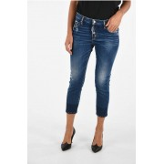 Dsquared2 Jeans COOL GIRL CROPPED in Denim Stretch taglia 42