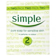 Simple Pure Soap Sensitive Skin 6X125G