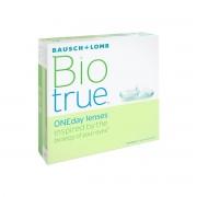 Bausch & Lomb Biotrue ONEday -9.00 journalières 90 lentilles de contact Bausch & Lomb -9.00 Nesofilcon A