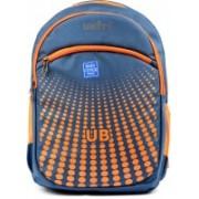 Unity Bags Polyester Multi Pocket School Bag |Casual Bag | Shoulder Backpacks for Girls & Boys 35 L Backpack(Blue, Orange)