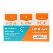 Kit 3x Ultra-d cápsulas alergia e fotoenvelhecimento da pele 30 cápsulas - Heliocare