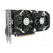 MSI GTX 1050 Ti 4GT OC, GeForce GTX 1050 Ti, 4GB/128bit GDDR5, DVI/HDMI/DP, MSI Cooling