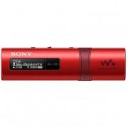 Sony Nwzb183r.Cew Walkman Lettore Mp3 Usb Radio Colore Rosso