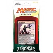Magic the Gathering: MTG Battle for Zendikar: Intro Pack / Theme Deck: Barrage Tyrant (includes 2 Booster Packs & Alternate Art Premium Rare Promo) Red