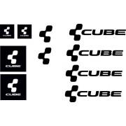 kit adesivi mtb cube 10 pz