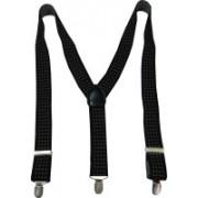 Navaksha Y- Back Suspenders for Men(Black, White)