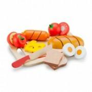 Platou cu diferite alimente