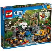 Lego Klocki konstrukcyjne City Dżungla Baza 60161