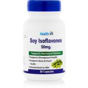 Healthvit Soy Isoflavones Extract 50MG 60 Capsules